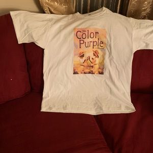 Color purple shirt